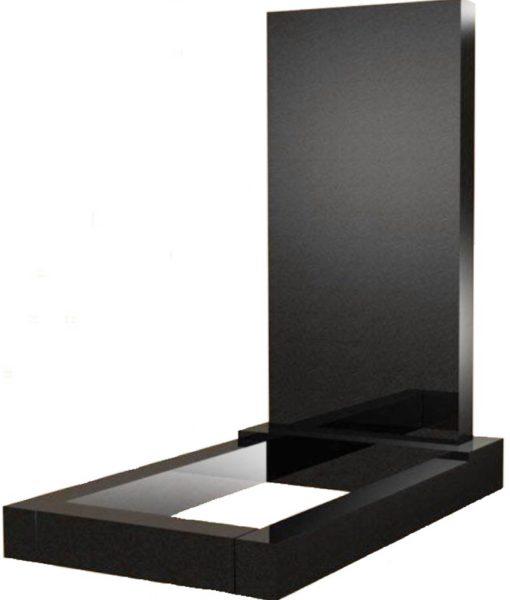 памятник, гранит черный, карелия, комплект