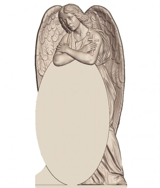 Ангел-за-стелой