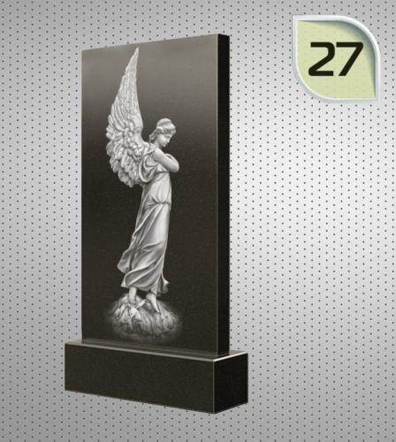 Ангел с крыльями в полный рост - 27